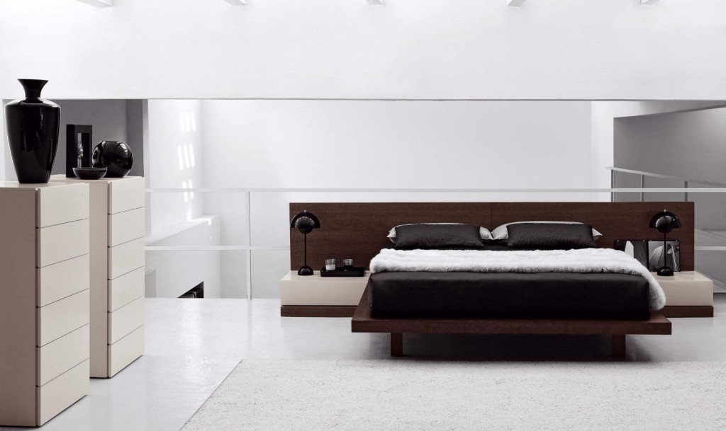NOVAMOBILI propone un letto un letto importante e lineare… letto ...