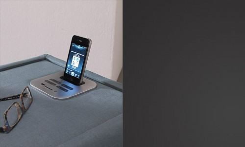 comodino, dock station, comodino x telefono, tavolino dock station, bolzan letti