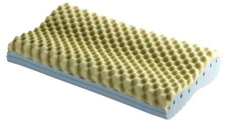 Un cuscino per il sollievo alla cervicale guanciale loto - Cuscini letto per cervicale ...