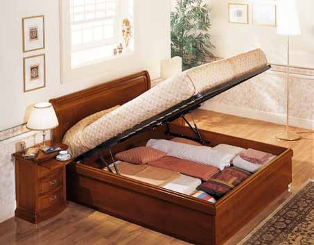 Tanto spazio in più sotto il letto .. scegli i letti con contenitore ...