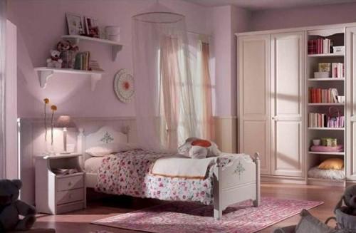 scandola, letto romantico, letto per bambina, lettino, letto cameretta, cameretta, idee camerette