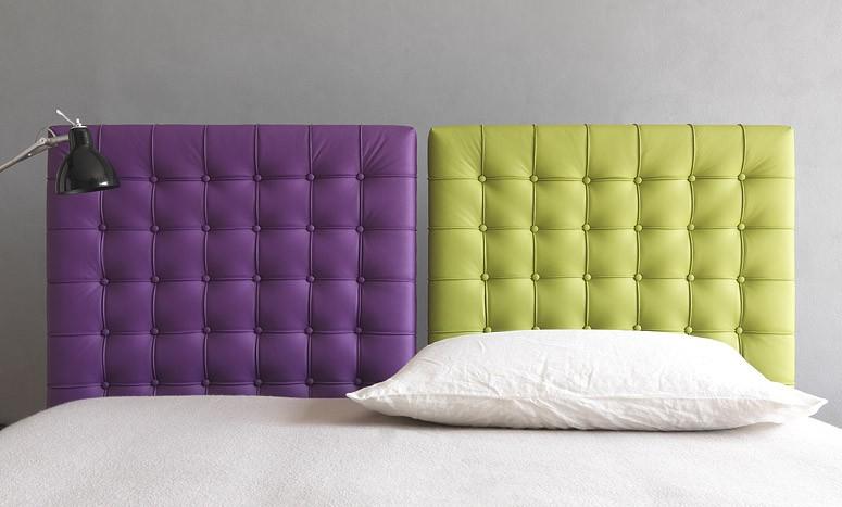 Un letto imbottito con contenitore coloratissimo - Come costruire un letto contenitore ...