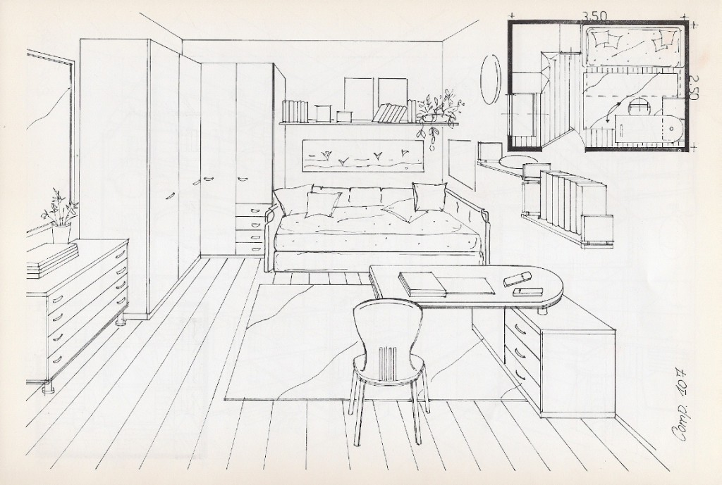 Cameretta archivi letto e materassoletto e materasso for Disegni mobili