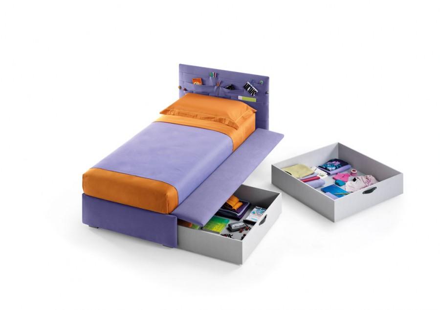il letto con le tasche